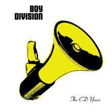 BOY DIVISION, the cd years cover