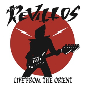 REVILLOS, live from the orient cover