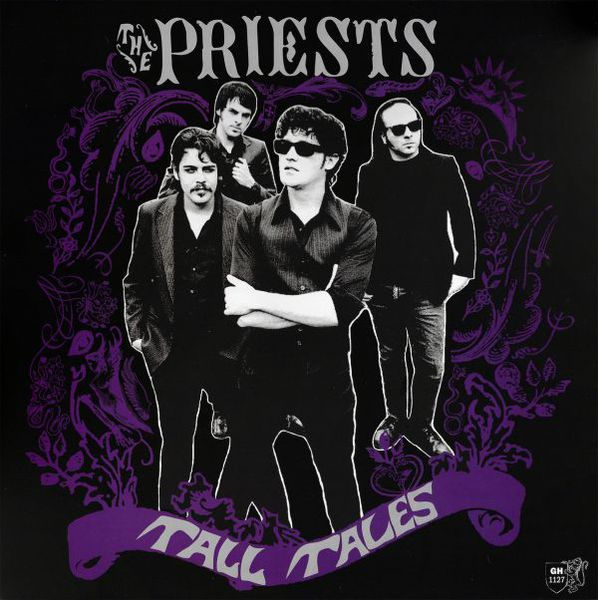 PRIESTS, tall tales cover