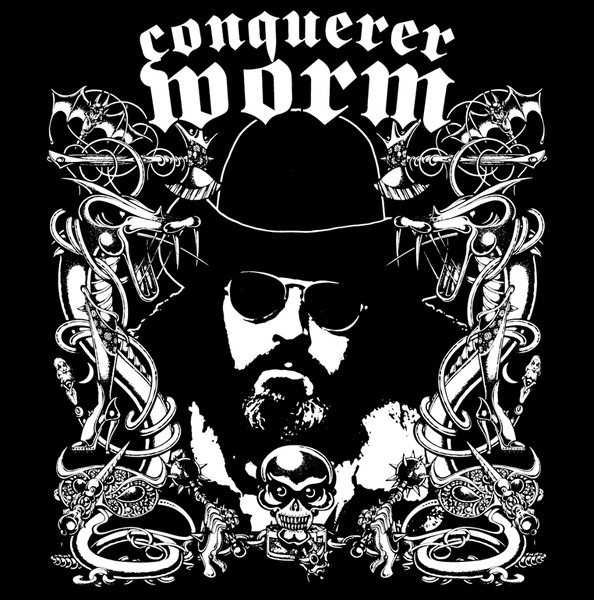 CONQUERER WORM, s/t cover