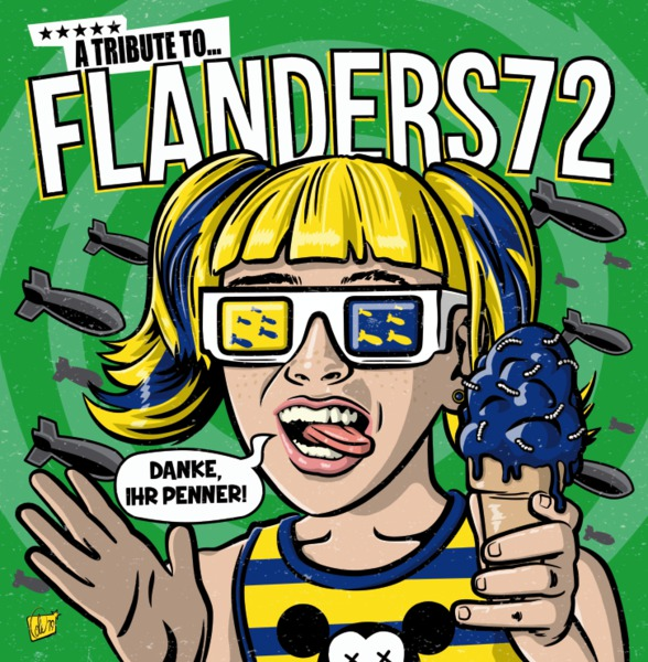 V/A, danke ihr penner-a tribute to flanders 72 cover