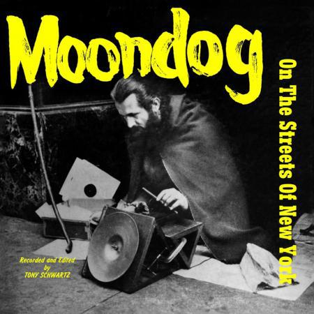 MOONDOG, on the streets of new york cover