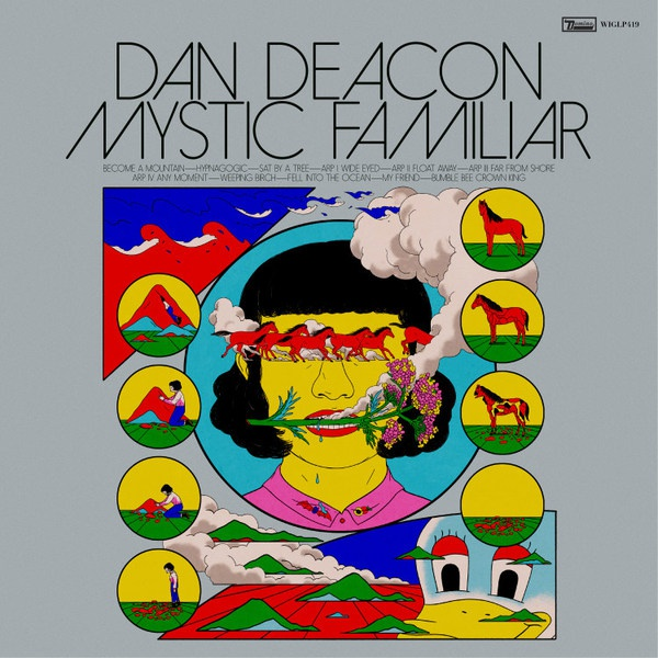DAN DEACON, mystic familiar cover