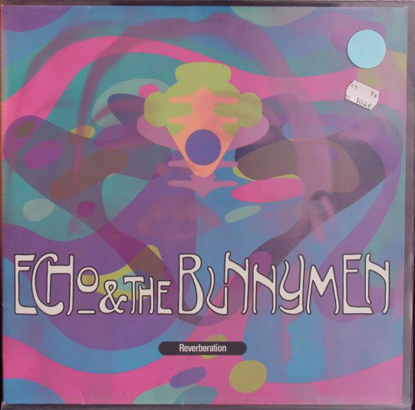 ECHO & THE BUNNYMEN, reverberation (USED) cover