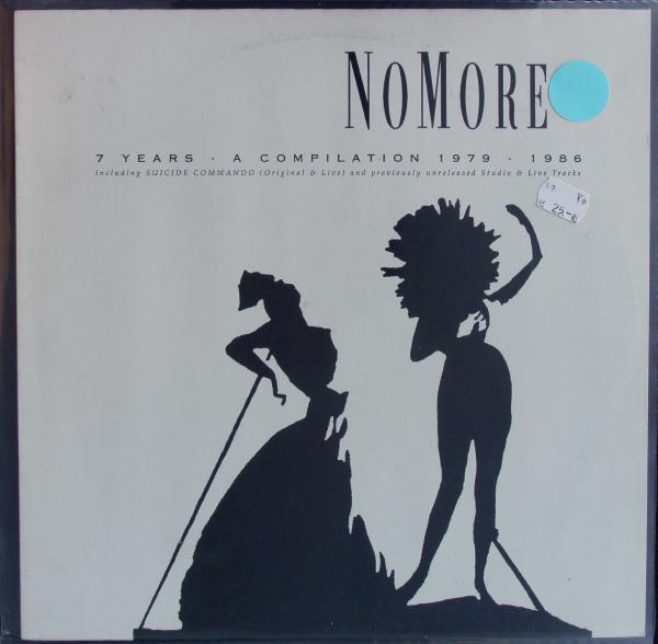 NO MORE, 7 years a compilation 1979 (USED) cover