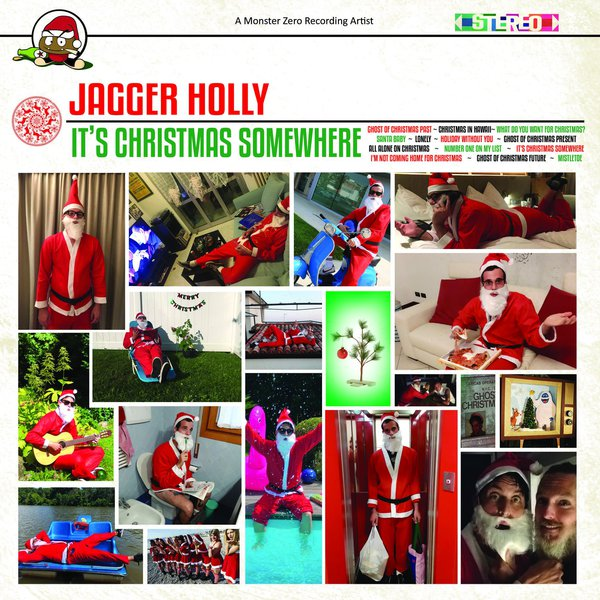 JAGGER HOLLY, it´s christmas somewhere cover
