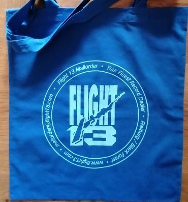 FLIGHT 13, stofftasche logo_blau cover