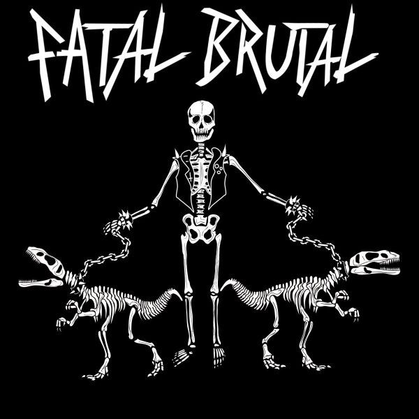 FATAL BRUTAL, s/t ep cover