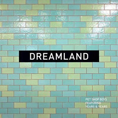 PET SHOP BOYS, dreamland cover