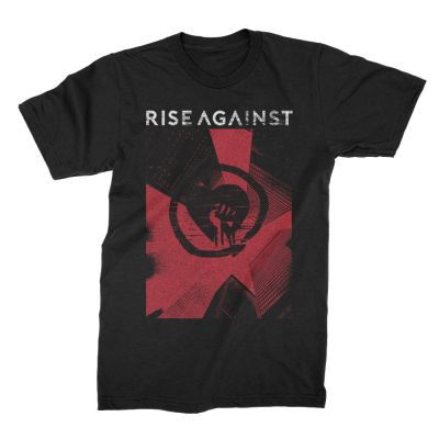 RISE AGAINST, tower (boy) black cover