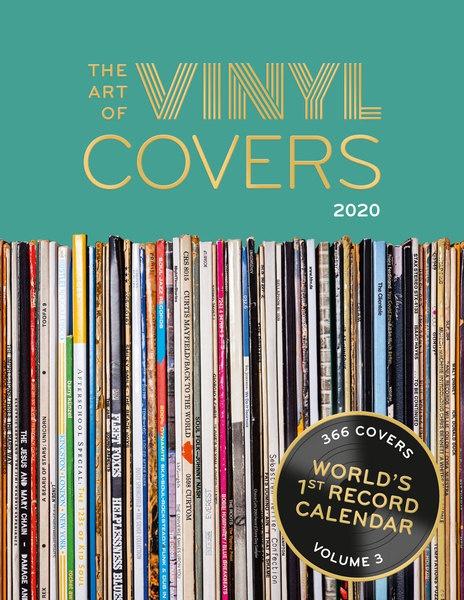 THE ART OF VINYL COVERS 2021, kalender cover