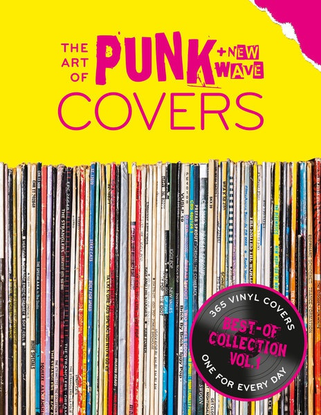 THE ART OF PUNK + NEW WAVE COVERS, kalender cover
