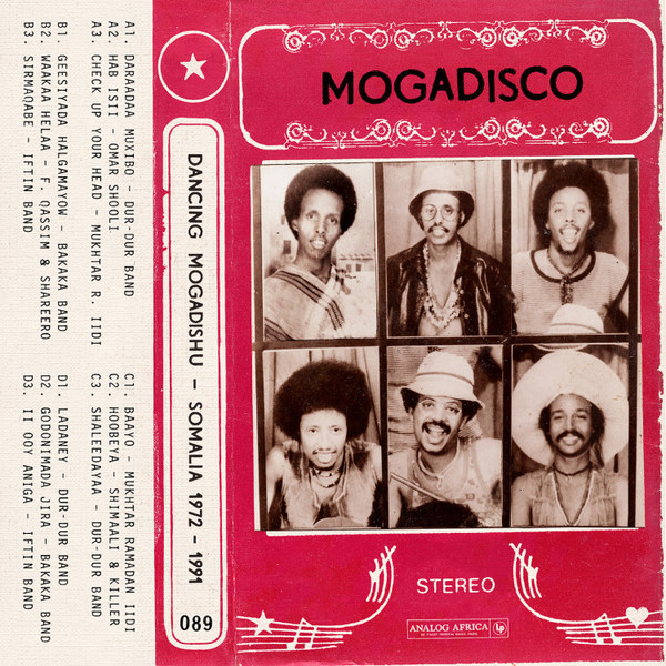 V/A, mogadisco - dancing in mogadishu (somalia 72-91) cover