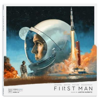 O.S.T. (JUSTIN HURWITZ), first man cover