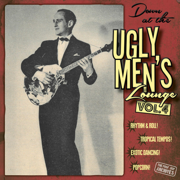 V/A, down at the ugly men´s lounge vol. 04 cover