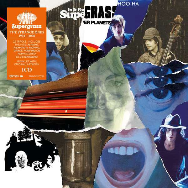 SUPERGRASS, the strange ones: 1994-2008 cover