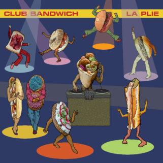 LA PLIE, club sandwich cover