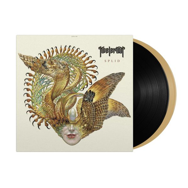 KVELERTAK, splid (indie exclusive black & gold vinyl) cover