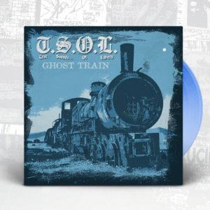 T.S.O.L., ghost train cover