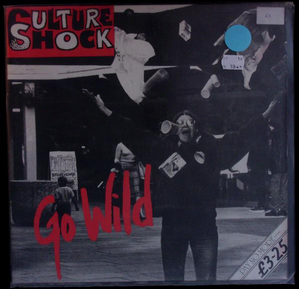 CULTURE SHOCK, go wild (USED) cover