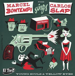 MARCEL BONTEMPI & CARLOS SLAP, young souls cover