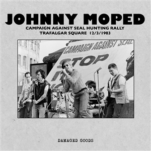 JOHNNY MOPED, live in trafalgar square 1983 cover