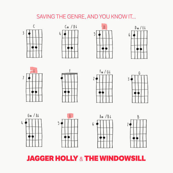 JAGGER HOLLY & THE WINDOWSILL, saving the genre and you know it cover