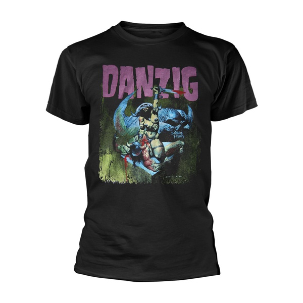 DANZIG, warrior (boy) black cover