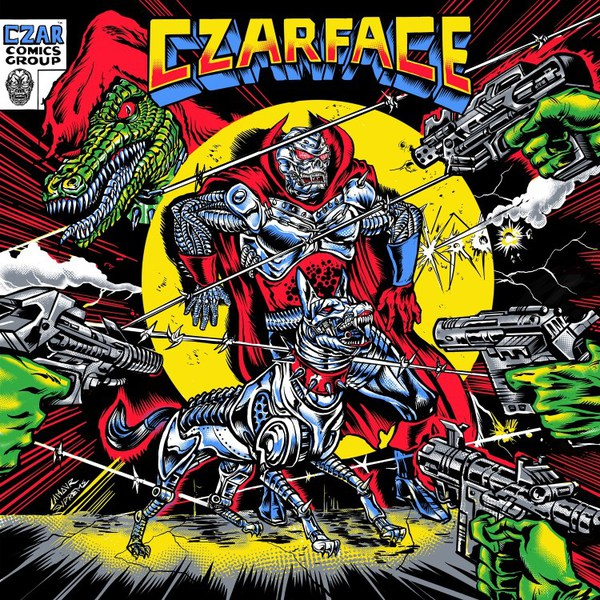 CZARFACE, the odd czar against us cover