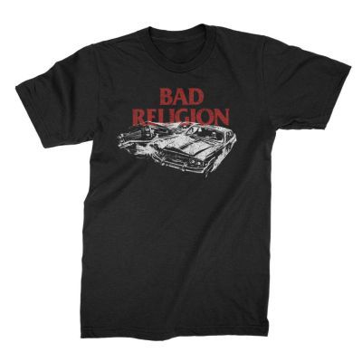 BAD RELIGION, car crash (boy) black cover