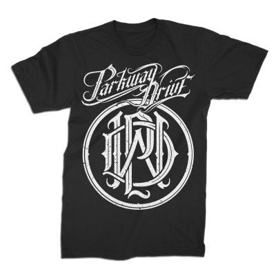 PARKWAY DRIVE, logo crest (boy) black cover