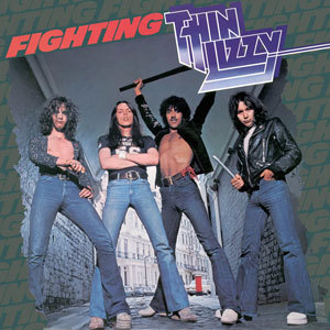 THIN LIZZY, fighting cover