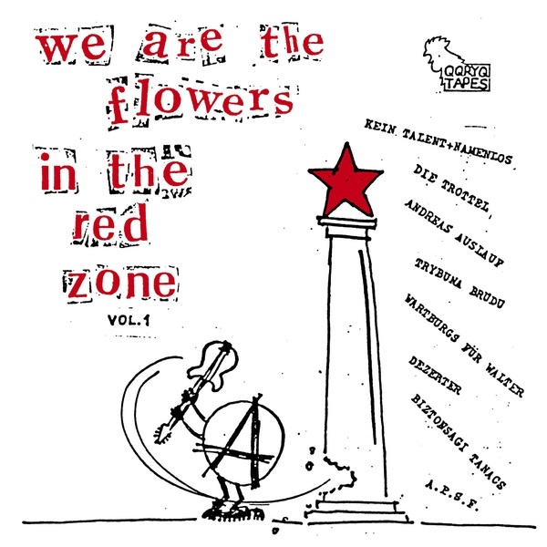 V/A, we are the flowers in the red zone vol. 1 cover