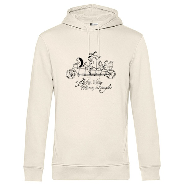 ZUM HEIMATHAFEN, life is like riding (kapu), heather grey cover