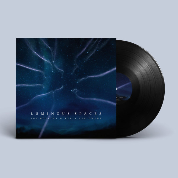 JON HOPKINS & KELLY LEE OWENS, luminous spaces / luminous beings cover