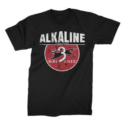 ALKALINE TRIO, nine lives (boy) black cover