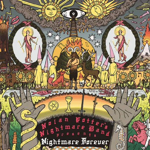 NOLAN POTTER´S NIGHTMARE BAND, nightmare forever cover