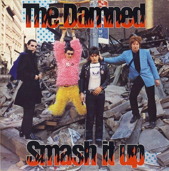 DAMNED, smash it up cover