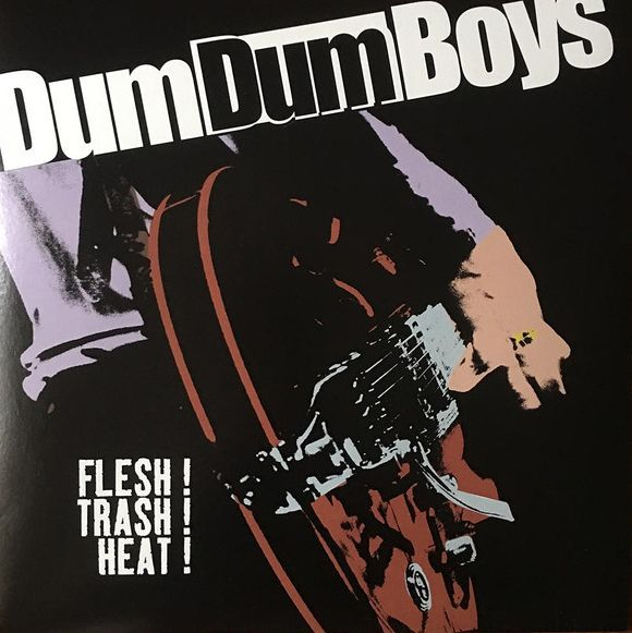 DUM DUM BOYS, flesh! trash! heat! cover