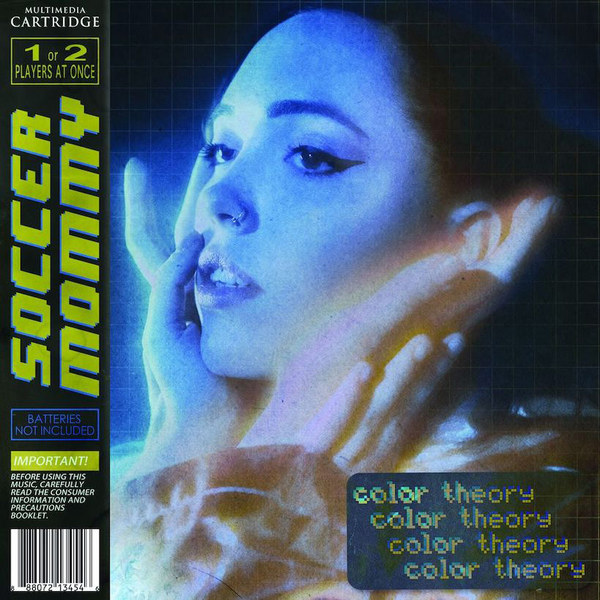 SOCCER MOMMY, color theory cover