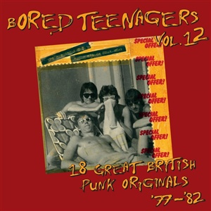 V/A, bored teenagers vol. 12 cover