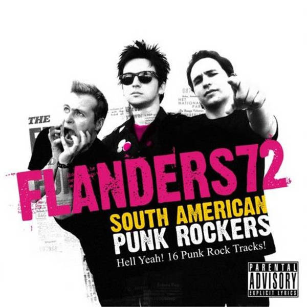 FLANDERS 72, south american punk rockers cover