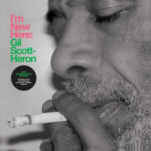 GIL SCOTT-HERON, i´m new here - 10th anniversary edition cover