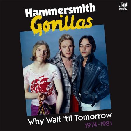 HAMMERSMITH GORILLAS, wait until tomorrow 1974-1981 cover