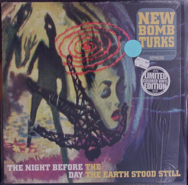 NEW BOMB TURKS, the night before the day...(USED) cover
