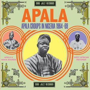 V/A, apala: apala groups in nigeria 1964-1969 cover