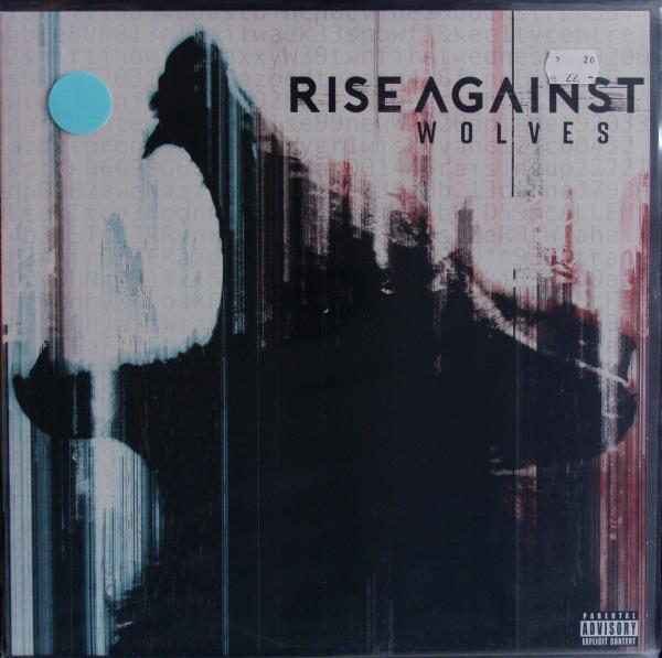 RISE AGAINST, wolves (USED) cover