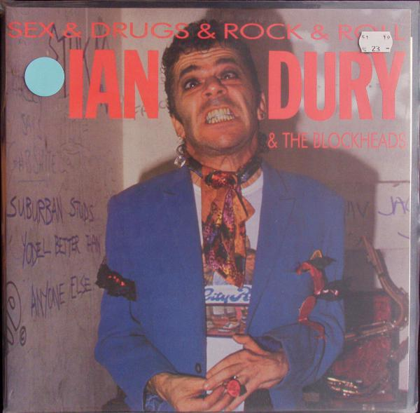 IAN DURY & THE BLOCKHEADS, sex & drugs & rock & roll cover