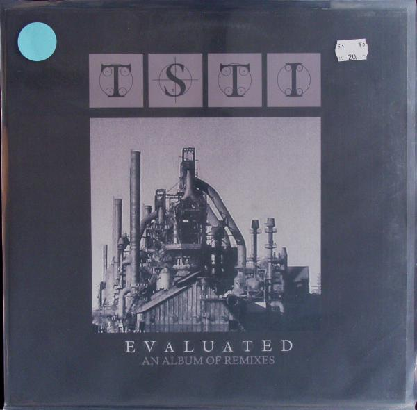 TSTI, evaluated (remixes) (USED) cover