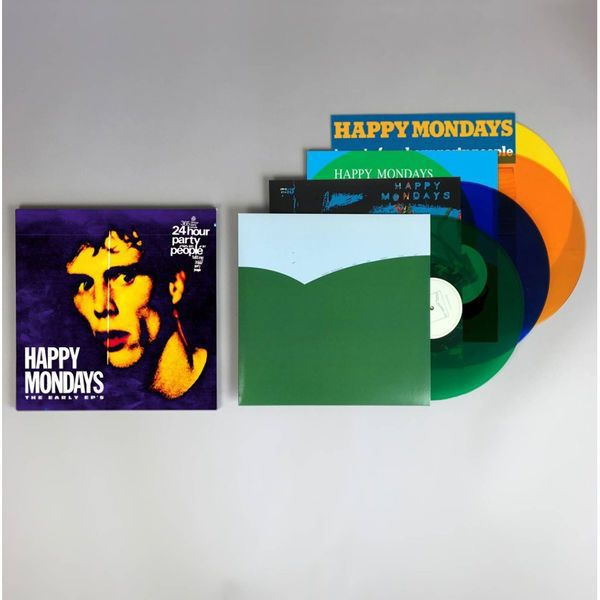 HAPPY MONDAYS, early eps cover